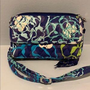 VERA BRADLEY Wallet-Blue Pattern